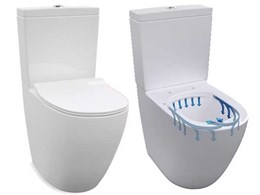 Enware's new rimless toilet suite combines design, hygiene and water savings