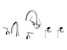Enware VP Lever series tapware with fingertip water control