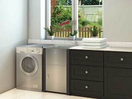 Everhard's Excellence laundry units merge proven design with stylish finishes for modern housing trends