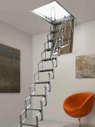 Attic Group releases new Italian range of concertina attic ladders
