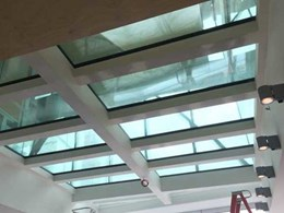 Visioneering fire resistant glazed floors installed in Frank Gehry Building