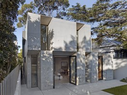 Concrete haven: Glebe house combines utility and style