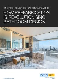 Faster, simpler, customisable: How prefabrication is revolutionising bathroom design