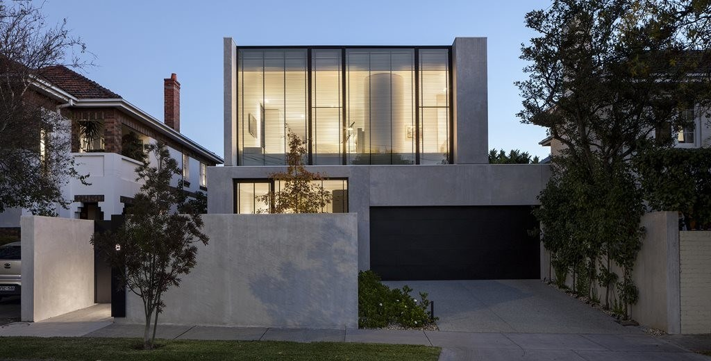 LSD Residence: A cement and glass home for empty-nesters
