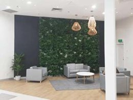 Keeping living and artificial green walls fire safe