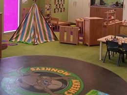 Signature floorcoverings help create fun, interactive learning environments at Putney childcare centre