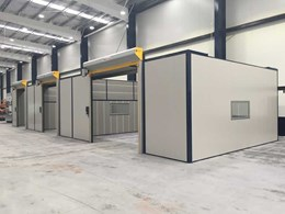 Case Study: Flexshield customises acoustic bays for engineering company to reduce workshop noise