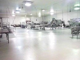 Flowfresh flooring helps maintain hygienic environment for produce at Chef's Pantry Braeside plant