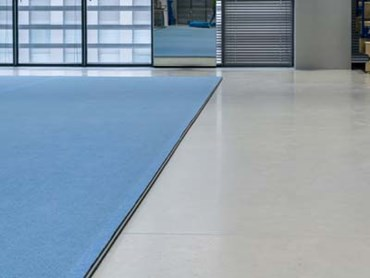 Flowshield LXP resin flooring at Leszek Blanik Gym Hall Innovation and Implementation Centre