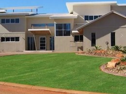 Formcraft's insulated concrete walling keeps luxury Broome residence comfortable