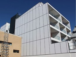 Prefinished FormPro ICF walls installed on North and South face of Leederville apartments