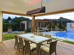 Alfresco dining just got better with new outdoor heating and lighting system