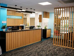 Auckland optometrist store gets a fresh look with Signature carpet tiles