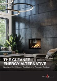The cleaner energy alternative: Specifying high-efficiency gas heating for Australian buildings
