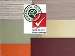 GECA certification again for Forbo Marmoleum and Artoleum flooring