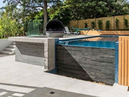 Anston paving lifts the outdoor space at Kensington residence