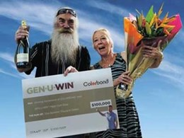 Passion for COLORBOND steel wins Korumburra homeowner $100,000