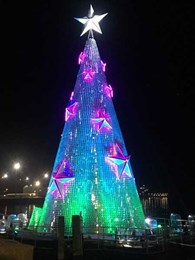 Jands Vista delivers flawless performance at annual Geelong Floating Christmas Tree event
