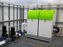 Meridian condensing hot water heaters installed at Geelong Grammar to heat pool efficiently
