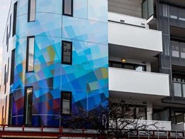 VitraArt bringing artwork to life on cladding at Melbourne apartments