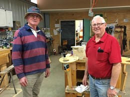 Hyne Community Trust supporting Tumbarumba Men's Shed