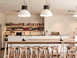 Gineico's pendants light up new Pizza Bar at Stirling Hotel