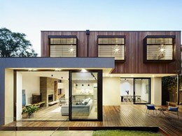 Stunning Glen Iris home features Radial Timber's shiplap cladding and radial decking