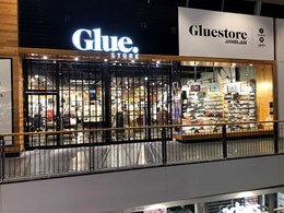 ATDC's folding closures secure Glue Store in Charlestown