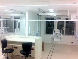 Guldmann ceiling hoist system installed for 12 new beds in Nepean Hospital ICU