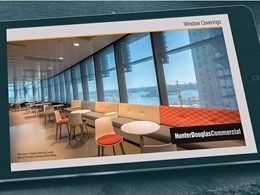New Hunter Douglas e-catalogue for window coverings released