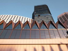 Equitone cladding on Hyatt Regency Sydney delivers multiple benefits
