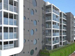 Breezway Altair louvre windows support natural ventilation at Halo Apartments in Perth