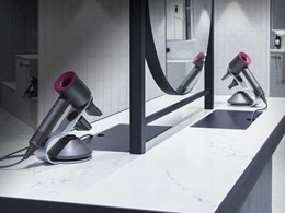 Luxurious end-of-trip facility features Dyson hair and hand dryers
