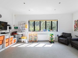 Bold, bright and beautiful Altro walls and floors bring cheer to children's hospice