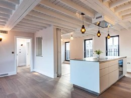 Havwoods flooring creates spacious look in luxury London apartments
