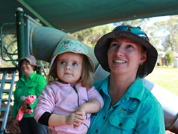 Mobile preschool bringing education to remote areas in Tumbarumba