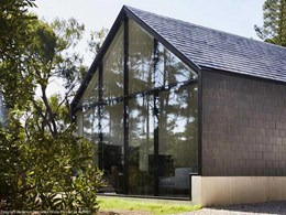 Alspec framing systems help secluded home blend into the bushland