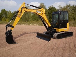 JCB CEA launches new midi model to next generation compact excavator range