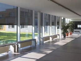 Renson customises solar shading and ventilation solutions for curtain walls