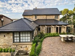 Boral terracotta tiles transform derelict sandstone cottage in Sydney into a stunning home