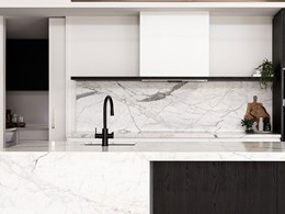 Zip HydroTap keeps it sleek in monochromatic kitchen design