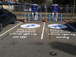 Leda bollards to protect NRMA EV charging stations