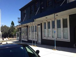 Bondi Beach boutique secured with ATDC's Security 365 plantation shutters