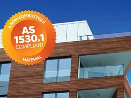 AS1530.1 compliant AluSelekta external cladding for buildings of all heights