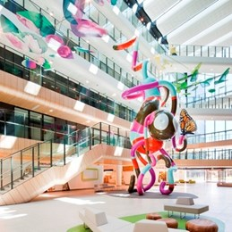 Royal Children's Hospital wins International Interior Design award, Emirates Glass LEAF 2012