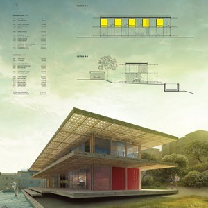 Shipping container vacation home wins bondi beach for Beach house design competition