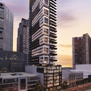 Metal Clad Opus Tower By Artisan Architects Finally