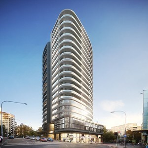 KANNFINCH and DC8 Studio reveal curvilinear architectural ...
