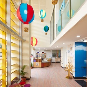 Child care centre designed from kids perspective but uses for Interior design for child care centre