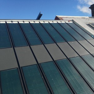 Australia S First Solar Steel Roof Goes On Show In Sydney